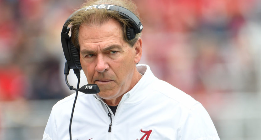 report nick saban pondering retirement to spend more time