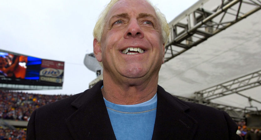 WWE wrestling legend Ric Flair reveals he slept with 10000 women!