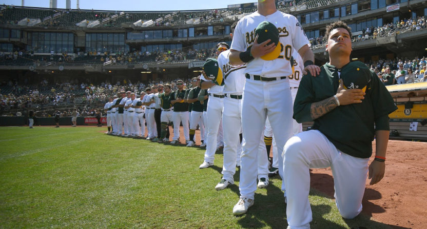 MLB's Bruce Maxwell Pro-Trump Waiter Wouldn't Serve Me ... Over Kneeling Protest