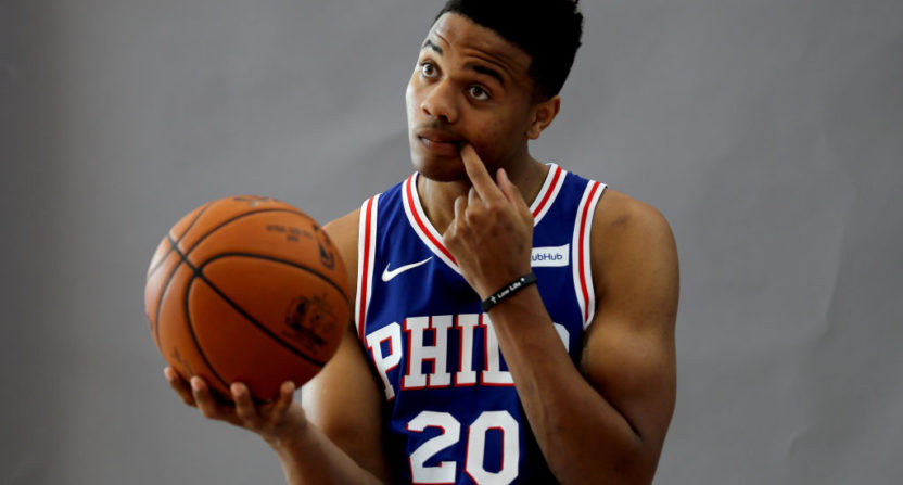 Markelle Fultz Reportedly Changes Shooting Form Due To Shoulder Injury