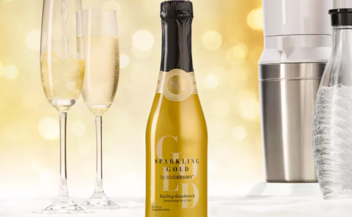You Can Make Sparkling Wine With Your SodaStream Now