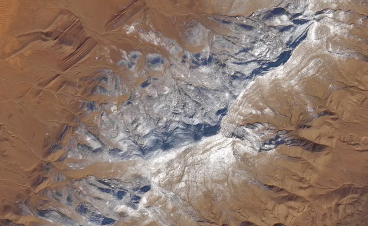 Sahara Desert Witnesses Snowfall Due To Drop In Temperature; Watch Video