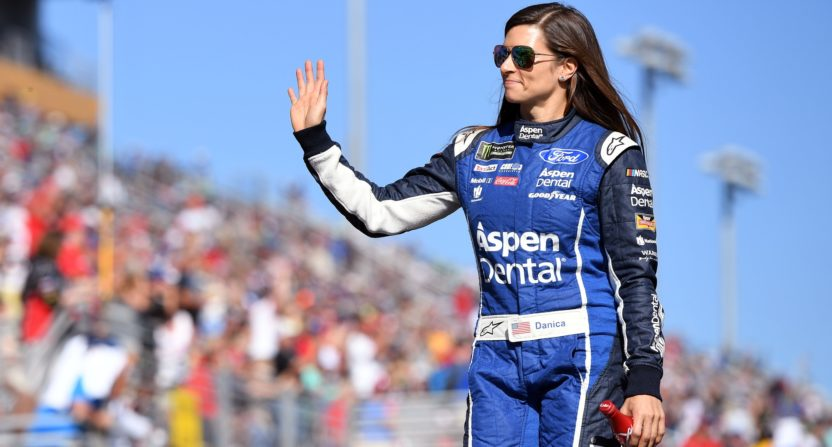 Danica Patrick Confirms Relationship With Aaron Rodgers
