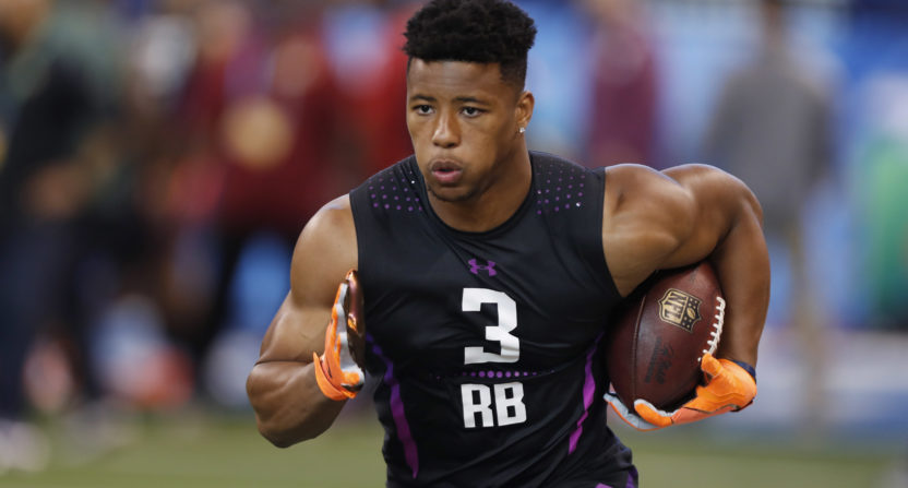 Panini Signs Saquon Barkley to Card, Memorabilia Deal