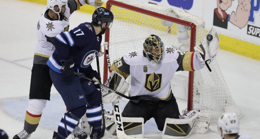 Winnipeg Jets' road success to be tested by Vegas Golden Knights
