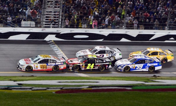 NASCAR creates 'overtime line' in new rules finish