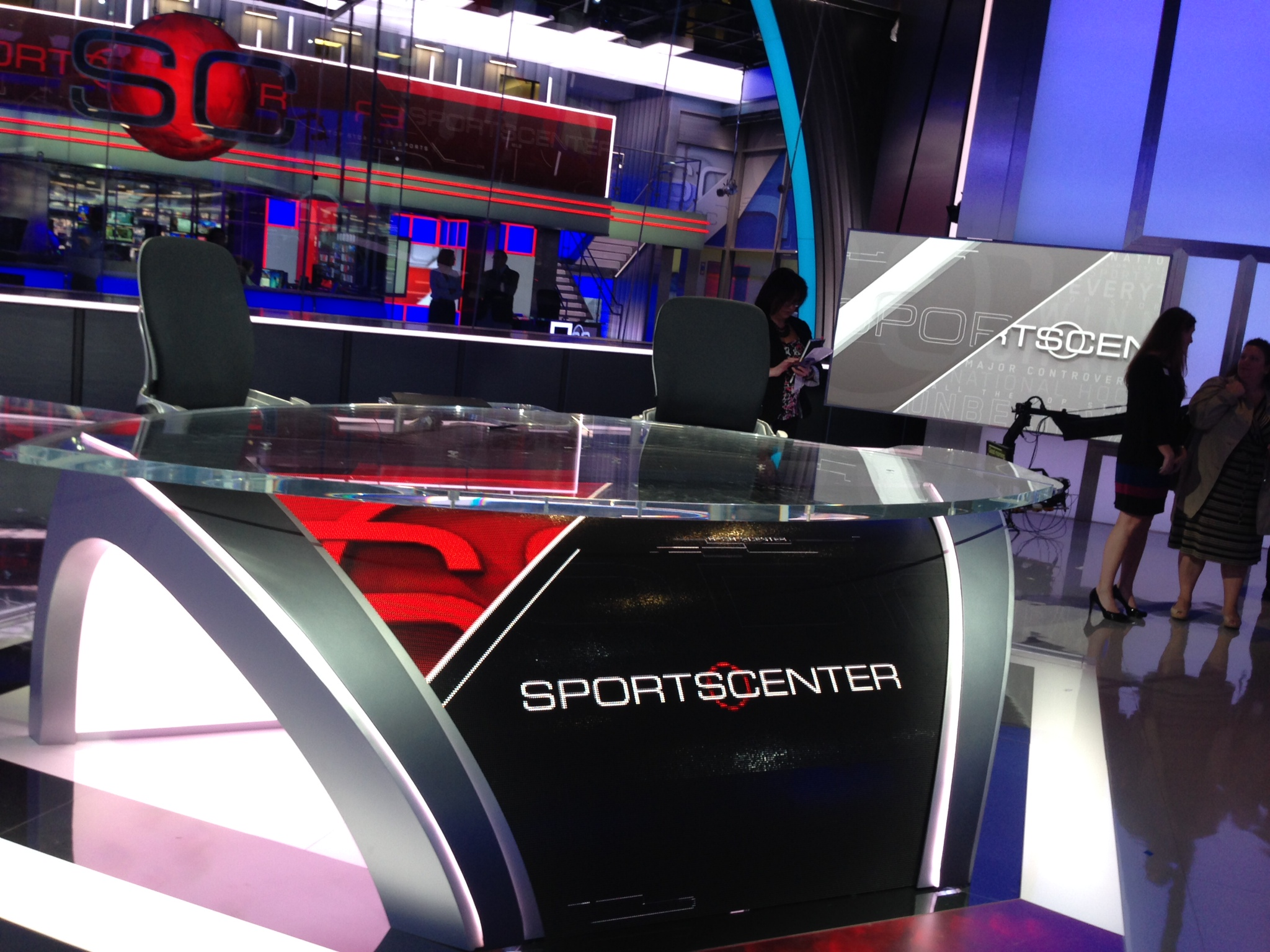 Yes, ESPN is experimenting with in-studio announcers for ...