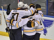 NHL: Buffalo Sabres at St. Louis Blues