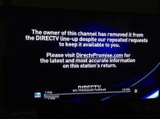 DirecTV pull