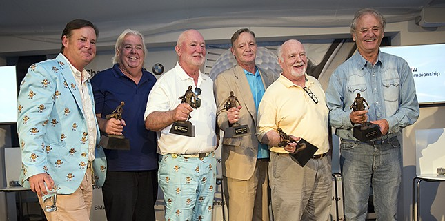 Bill Murray And His Five Brothers Got Inducted Into The Caddie Hall Of Fame