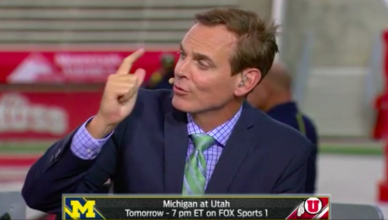 colin cowherd college picks wednesday night rivalry schedule