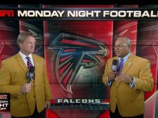 Tirico and Gruden on Monday Night Football