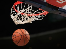 DENVER, CO - NOVEMBER 03:  Detail of the ball as it goes through the basket as the Sacramento Kings warm up to face the Denver Nuggets at Pepsi Center on November 3, 2014 in Denver, Colorado. The Kings defeated the Nuggets 110-105. NOTE TO USER: User expressly acknowledges and agrees that, by downloading and or using this photograph, User is consenting to the terms and conditions of the Getty Images License Agreement.  (Photo by Doug Pensinger/Getty Images)