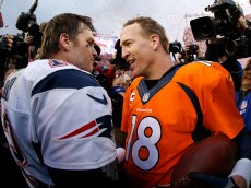 in the AFC Championship game at Sports Authority Field at Mile High on January 24, 2016 in Denver, Colorado.