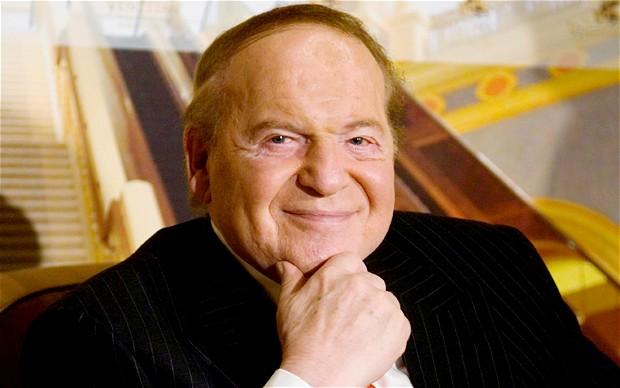 Sheldon Adelson-owned newspaper backs Adelson-driven Las ...