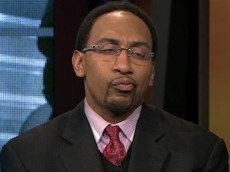 Stephen A Smith sour face