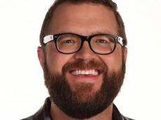 NASCAR AMERICA -- Pictured: Rutledge Wood, Feature Reporter, NASCAR on NBC -- (Photo by: Grant Halverson/NBC Sports)