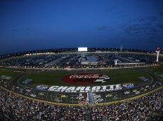 CHARLOTTE, NC - MAY 24: A general view of the speedway during the NASCAR Sprint Cup Series Coca-Cola 600 at Charlotte Motor Speedway on May 24, 2015 in Charlotte, North Carolina.  (Photo by Streeter Lecka/Getty Images)