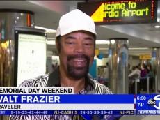 Walt Frazier Traveler