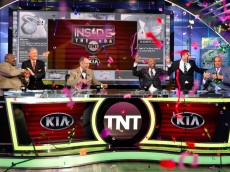 Inside the NBA celebration