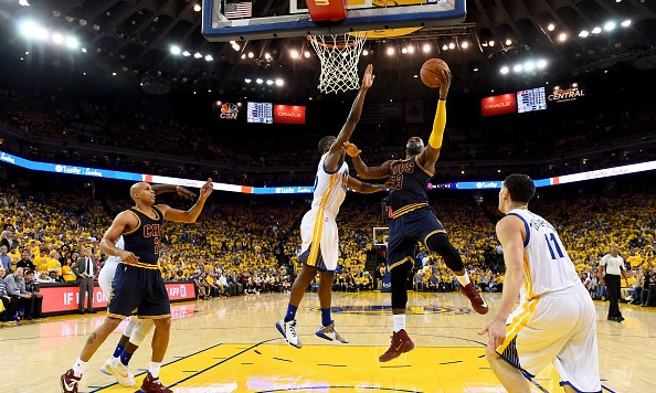 Warriors-Cavs produces 13.1 overnight, highest NBA Finals Game 1 ever on ABC