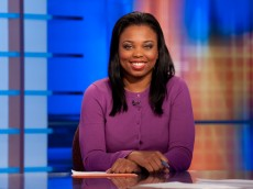 Tuesday, March 17, 2009 -- Bristol, CT --  ESPN 1st and 10 -- Jemele Hill