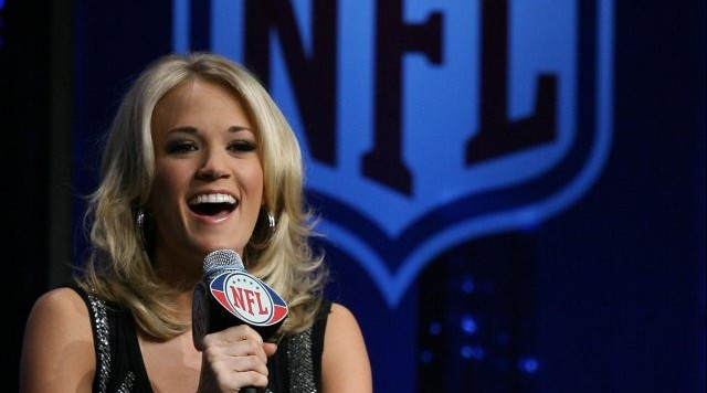 Image result for carrie underwood sunday night football 2016
