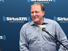 NEW YORK, NY - APRIL 27:  Former ESPN Analyst Curt Schilling talks about his ESPN dismissal and politics during SiriusXM's Breitbart News Patriot Forum hosted Stephen K. Bannon and co-host Alex Marlow at the SiriusXM Studio on April 27, 2016 in New York, New York.  (Photo by Cindy Ord/Getty Images for SiriusXM)