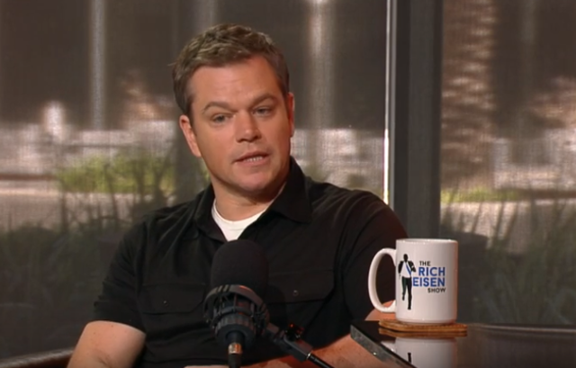 Matt Damon Rich Eisen