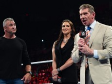 vince mcmahon shane stephanie wwe raw