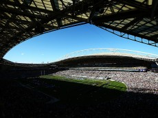 SYDNEY, AUSTRALIA - AUGUST 27: A general view of the stadium during the College Football Sydney Cup match between University of California and University of Hawaii at ANZ Stadium on August 27, 2016 in Sydney, Australia.  (Photo by Mark Nolan/Getty Images)