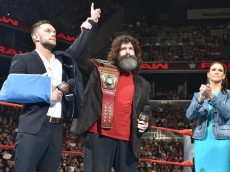 finn balor mick foley stephanie mcmahon