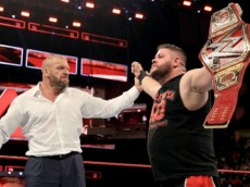 kevin owens triple h universal title