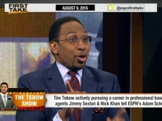 Stephen A. Smith debate