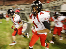 ORLANDO, FL - JANUARY 04:  Safety Stephon Gilmore #4 of the white team runs onto the field before the All America Under Armour Football Game at Florida Citrus Bowl on January 4, 2009 in Orlando, Florida.  (Photo by Doug Benc/Getty Images)
