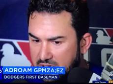 Adrian Gonzalez error