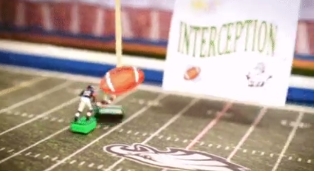 Teams skirt NFL video policy with homemade signs, toys