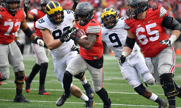 Michigan-Ohio State becomes highest-rated college football ...