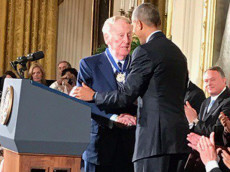 Vin Scully Presidential Medal of Freedom
