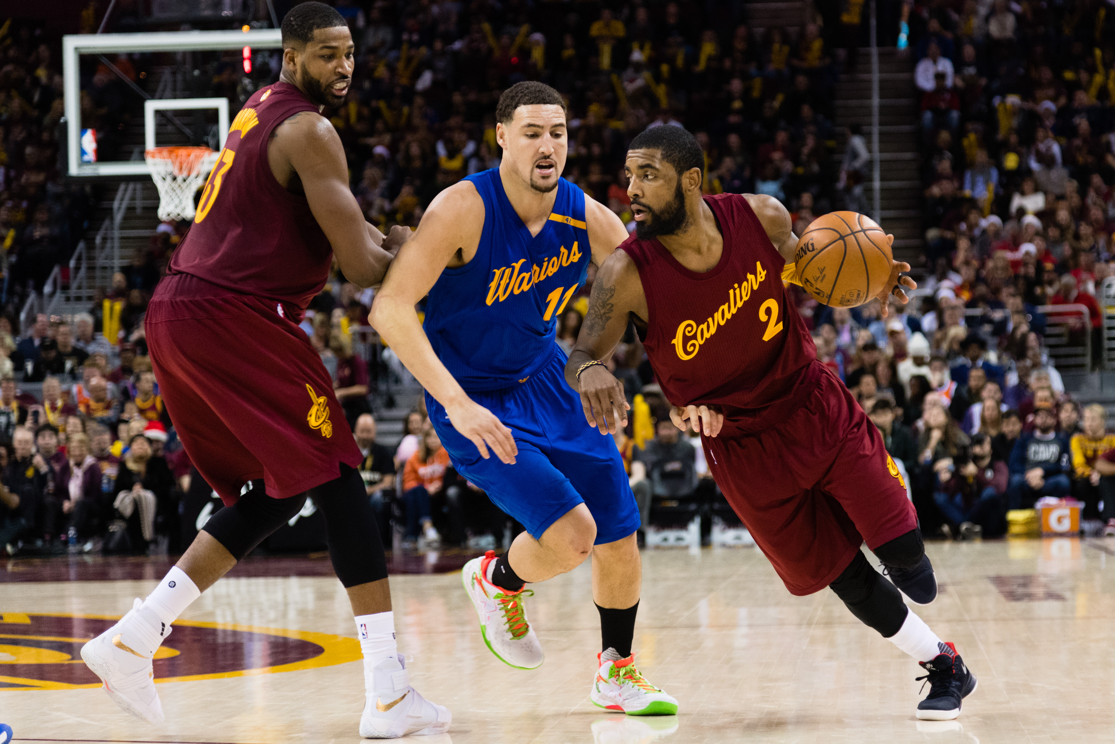 Cavs-Warriors matches highest overnight rating for Christmas ...