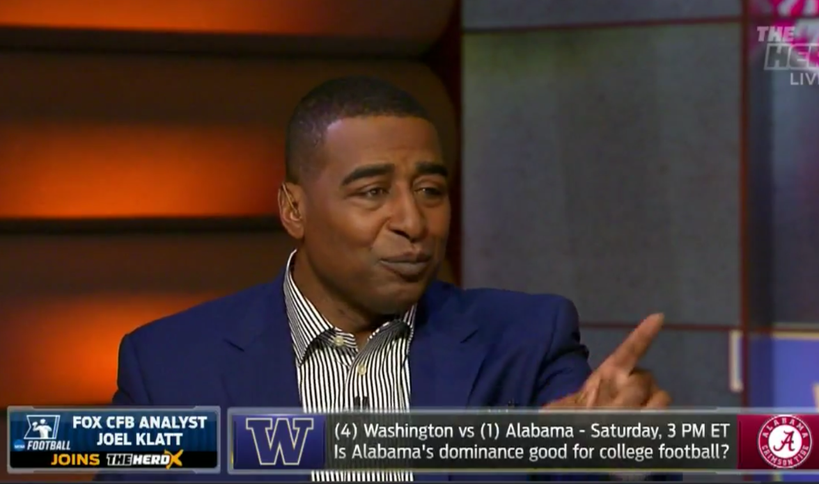Cris Carter The Herd