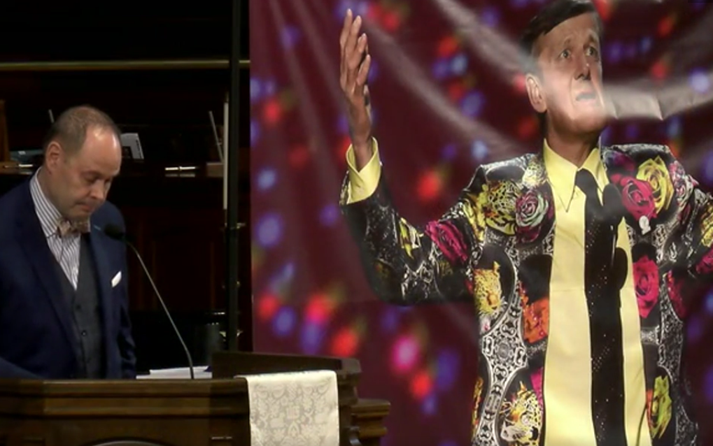 Ernie Johnson Craig Sager tribute