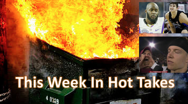 This Week In Hot Takes College Edition Dec 23