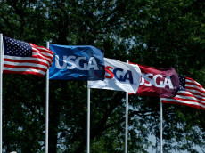 during the second round of the U.S. Women's Open at Lancaster Country Club on July 10, 2015 in Lancaster, Pennsylvania.