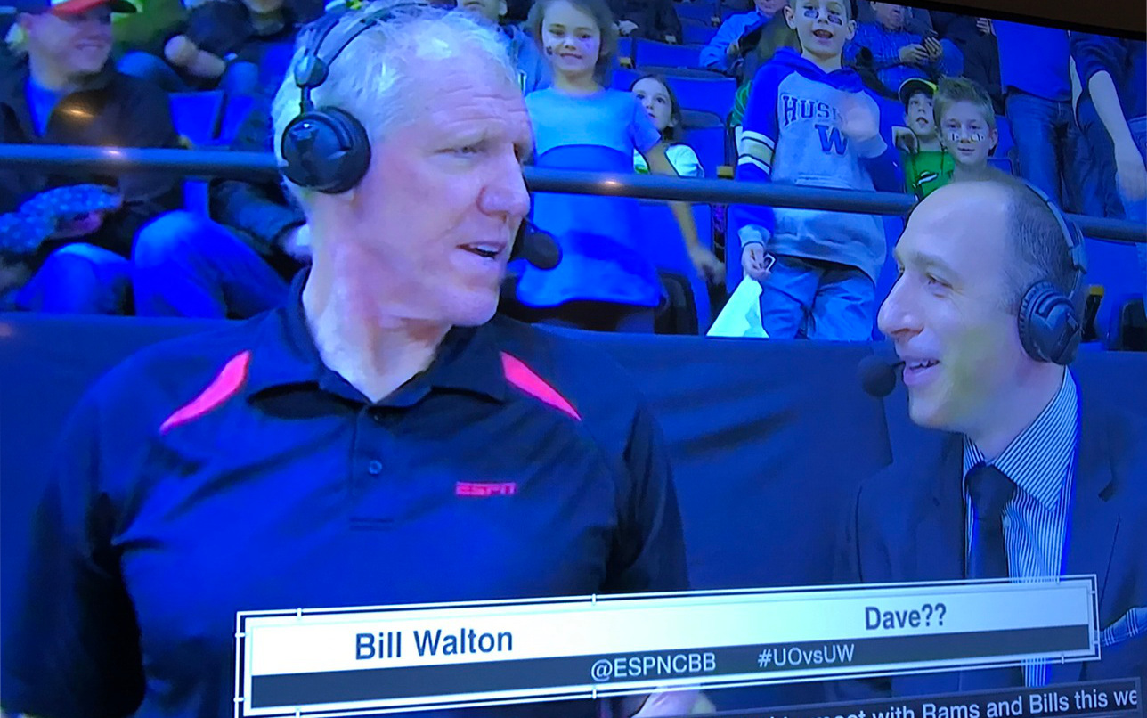 Bill Walton Dave Pasch Dave graphic