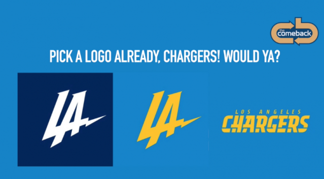 Chargers logos