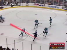 NHL on Fox glowing puck