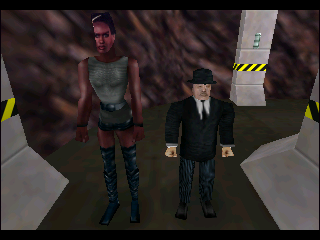 Oddjob (right) was definitely harder to hit than other characters like Mayday.