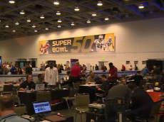 Super Bowl 50 Radio Row
