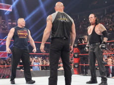 lesnar undertaker goldberg